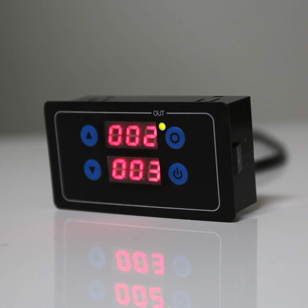 12 V 220 V Optionale Spannung 999 H Countdown-Timer Programmierbares Zykluskontrollmodul Zeitrelais 5 V Guangtian 0,1 S
