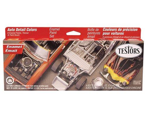 Testors Auto Detail Enamel Paint Set