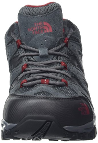 FACE Gore Rudy THE NORTH Chaussures Storm Basses de Multicolore Randonnée Homme Shadow Red Dark tex Hike Grey 4q5AnwWqB