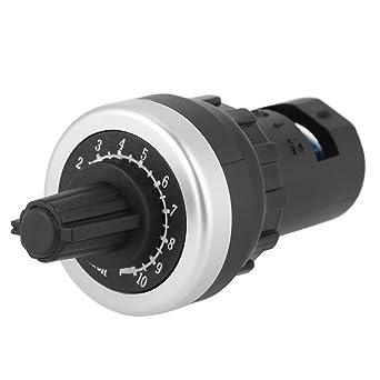 Acouto 10k Potenciómetro de montaje en panel VSD VFD para variador de velocidad variable Invertir,