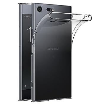 AICEK Funda Sony Xperia XZ Premium, Transparente Silicona Fundas para Xperia XZ Premium Carcasa XZ Premium (5,46 Pulgadas) Silicona Funda Case