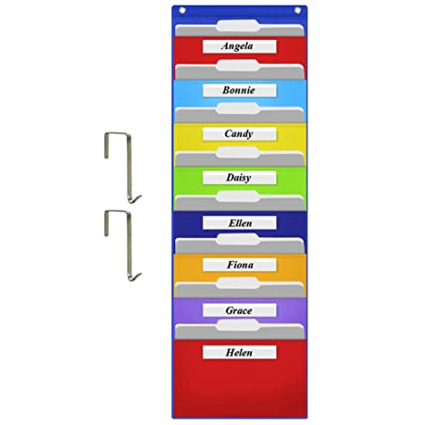 Amazon.com: Eamay - Organizador de archivos de pared para ...