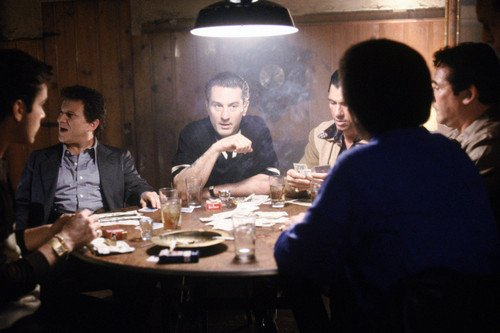 Goodfellas 24X36 Poster Joe Pesci Robert De Niro and gangsters gambling Silverscreen