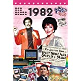 1982 Birthday Gifts - 1982 DVD Film and 1982 Greeting Card