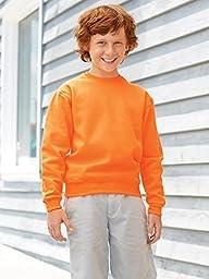 Jerzees Youth NuBlend® Crew Neck Sweatshirt - Kelly - L