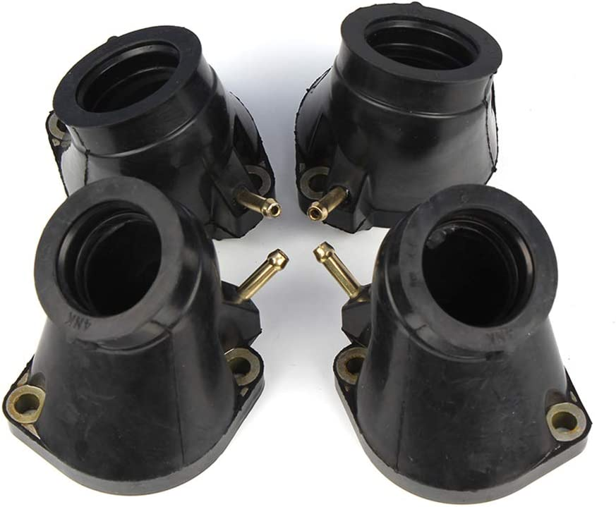 Three T Carb Carburetor Intake Manifold Boots Compatible With 1996-2000 XVZ1300 Royal Classic