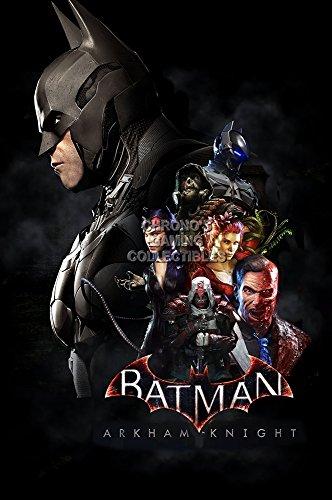 "Price comparison product image PremiumPrintsG - Batman Arkham Knight PS4 Xbox ONE- XEXT705 Premium Decal 11"" x 17"" (28 cm x 43 cm)"