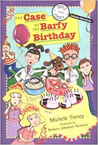 The Case of the Barfy Birthday (Science Detectives, No. 4)-ExLibrary