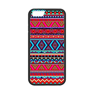 "Floral Aztec Pattern Durable Protection Brand New 4.7"" Cover Case for iPhone 6"