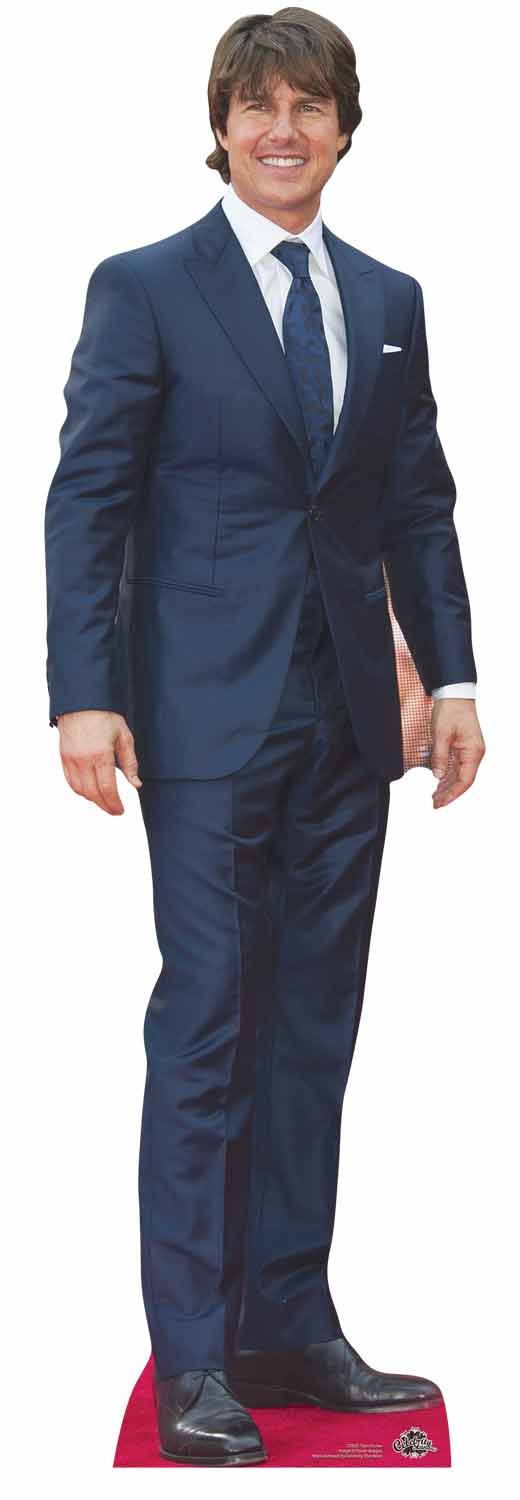 Star Cutouts Ltd Stella ritagli Tom Cruise Life size Cardboard Cut out CS637