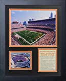 "Legends Never Die ""Cleveland Browns Stadium Framed Photo Collage, 11 x 14-Inch"