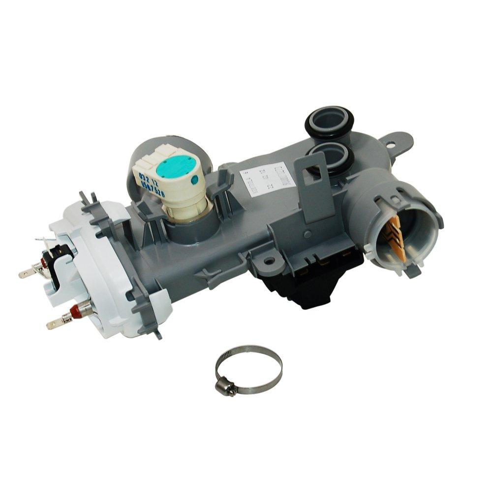 Amazon.com: Original Siemens lavaplatos Elemento calentador ...