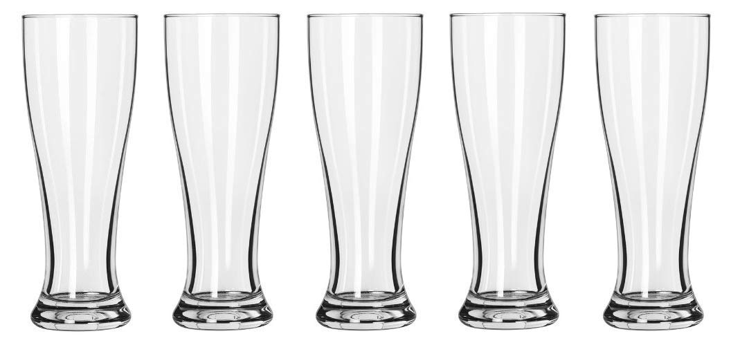 Fivе Расk Libbey Midtown Pilsner Glass Clear