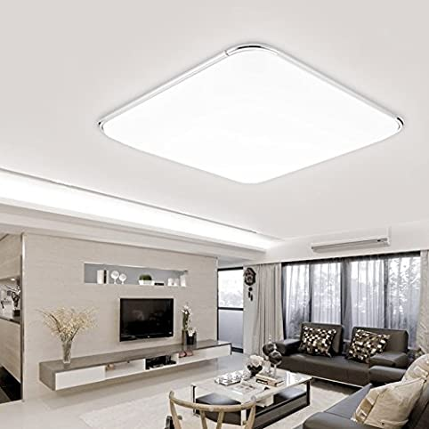 Hengda® LED Deckenleuchte Deckenlampe Leuchte Modern Angenehmes Licht Für  Korridor Esszimmer Wohnzimmer (64W Kaltweiß