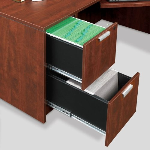 Contemporary Compact Corner LDesk 71'' x 71''
