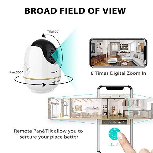 Netvue Pet Camera 720p Home Camera 2 Way Audio And Night