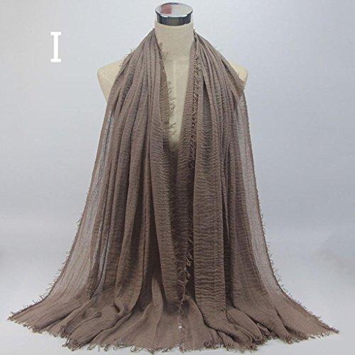 voil musulmanes Hijab Echarpes et pour Amlaiworld Femmes femmes foulards wxqF8RP