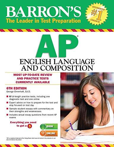 Barron's AP English Language and Composition (6th 2015) [Ehrenhaft]