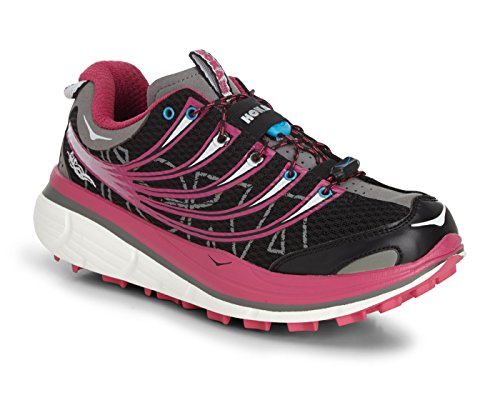 grey black donna Hoka Kailua S grey pink trail pink scarpa black v1waqP1