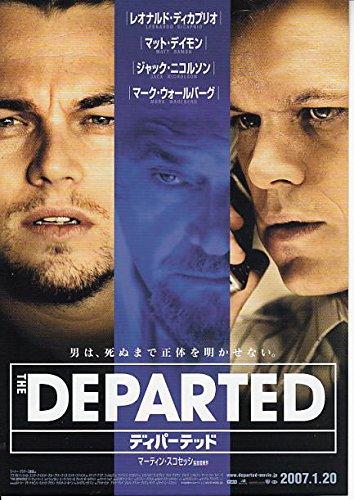 yti 63 洋画映画チラシ「ディパーテッド 」レオナルド・ディカプリオ、マット・ディモン