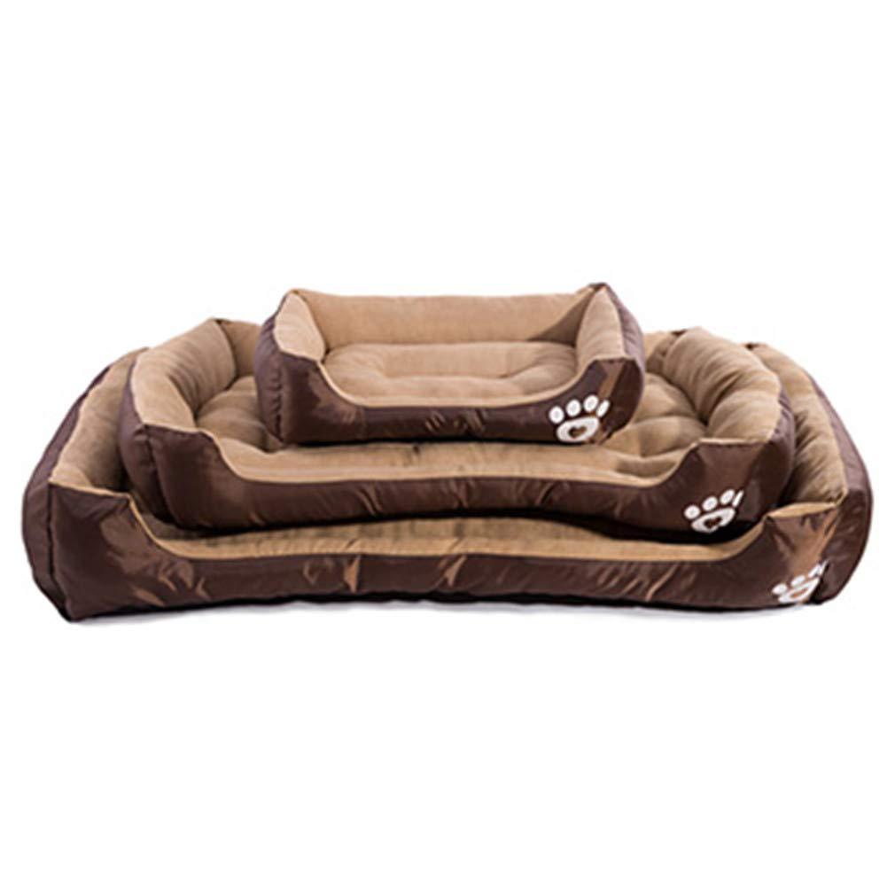 Yt-kes Cuccia per per per Cani Pet House Pet Nest Cane Autunno e Inverno Warm Nest Kennel for Cat Puppy Marronee XXXL 7581c5