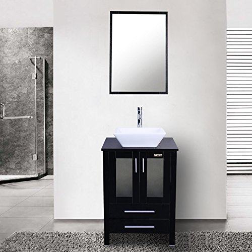 Eclife 24 Quot Modern Bathroom Vanity Sink Combo Units Cabinet
