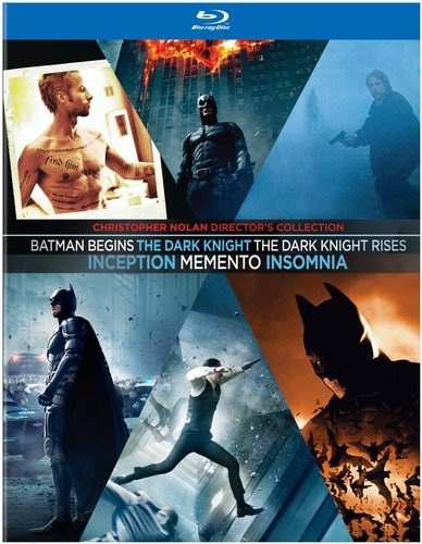 rector's Collection (Memento / Insomnia / Batman Begins / The Dark Knight / Inception / The Dark Knight Rises) [Blu-ray] ()