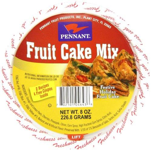 Mix Fruitcake (Pennant Fruit Cake Mix, 8 Ounce (Pack of 12))