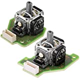 Gametown® Analog Stick with PCB Board for Nintendo Wii U GamePad Controller Left Right Set