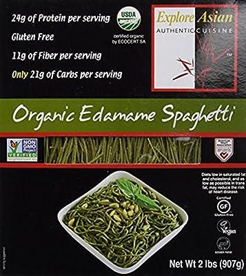 Organic Edamame Spaghetti from Explore Cuisine