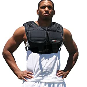MIR® - (SHORT STYLE) WORKOUT PLATE WEIGHT VEST - HOLD UP TO 40LBS