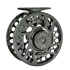 Fiblink Saltwater Fly Fishing Reel Aluminum 2+1 BB 1:1 Gear Ratio Fly Reel  1. This fly reel is constructed from cold-forged, CNC-machined, high-grade aluminum, and boasts a sealed drag stack.  2. It is easily adjustable for left-or right-han...