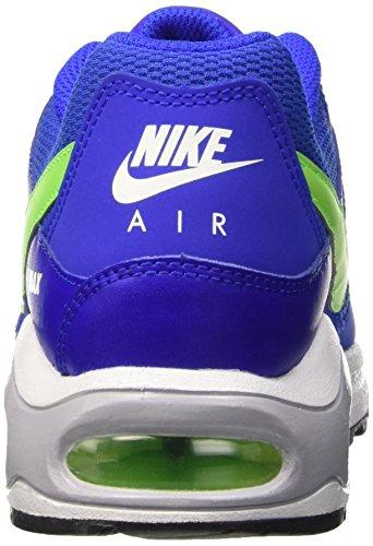 Nike Jungen Air Max Command (Gs) Gymnastik Blau (Rcr Bl/Elctrc Grn-Rcr Bl-White)