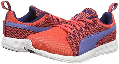 Rosso Para cayenne bleached Knit Aura Puma Hombre Zapatillas Carson astral Runner Denim Wn's 02 rot TT0wXpq