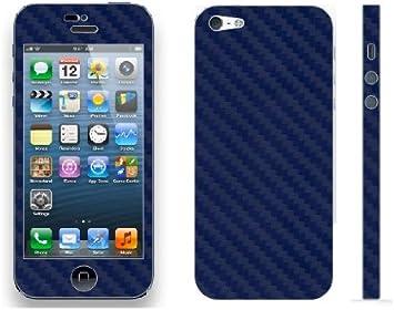 Pegatina Vinilo Skin Sticker Efecto Fibra de Carbono para iPhone 5 ...
