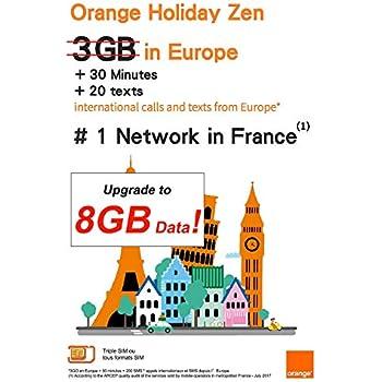 Amazon.com: PrePaid Europe - Tarjeta SIM de 2 GB/5 GB/12 GB ...