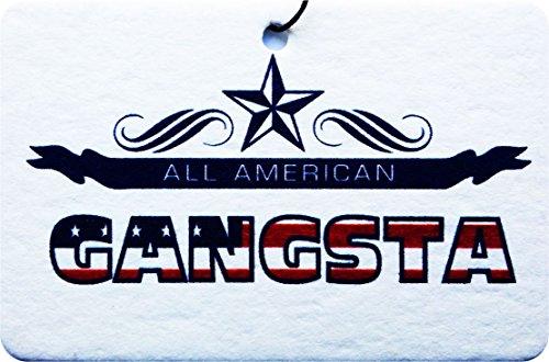 All American Gangsta Car Air Freshener (Xmas Christmas Stocking Filler/Secret Santa Gift)
