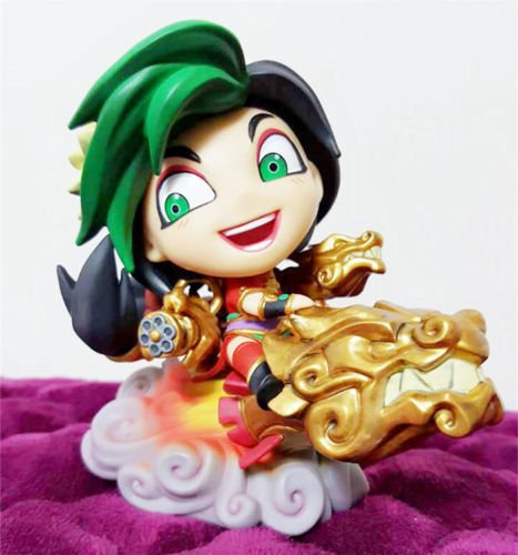 [New LOL Firecracker Jinx League of Legends Game PVC Figure Figurine Toy] (Kirby Marx Costume)