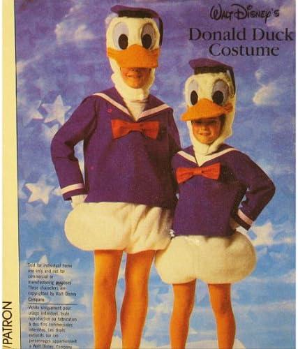 Patrón de costura Simplicidad 7731 Donald pato disfraz adulto ...