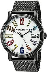 Stuhrling Original Men's 'Symphony' Swiss Quartz Stainless Steel Casual Watch (Model: 301M.33592)