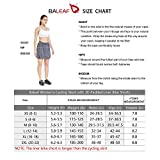 BALEAF Women's Cycling Skort with 3D Padded Liner