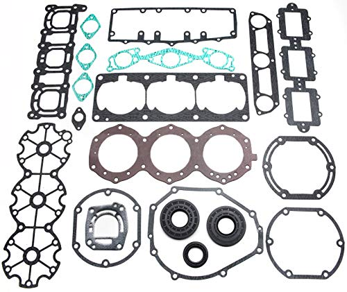 Complete Engine Rebuild Gasket Seal Kit Yamaha 1100 Jet Ski Wave Raider 1100 ()