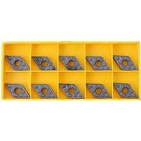 KKmoon 10Pcs CNC Torno DNMG431-TF IC907 DNMG150404-TF IC907,Insertos
