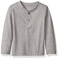 The Children's Place Baby-Boys Li'l Guy's Henley Tee, Steamboat, 18-24 months