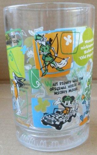 Collectible McDonald's Walt Disney World 100 Years of Magic Glass Cup