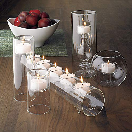 SUNWO Candle Holder, Vintage Candlelight Dinner, Set of 3 for Wedding Centerpiece,Table Decorations, Home Decor, Patio Decor CH02