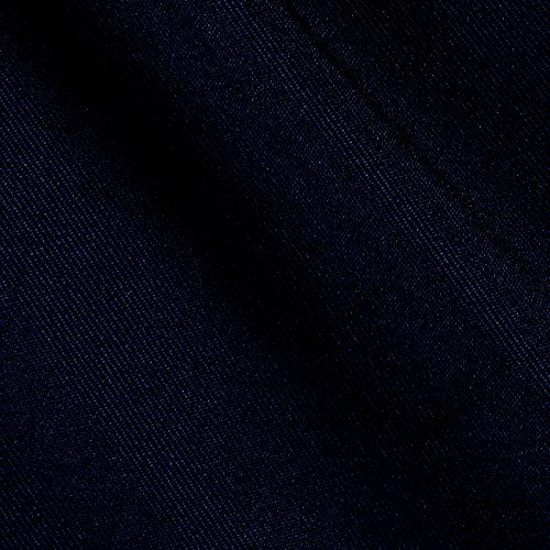 Ben Textiles Gabardine Suiting Dark Navy Fabric By, used for sale  Delivered anywhere in USA