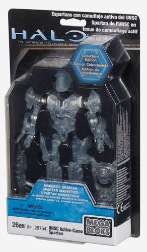 Collectors Edition Megabloks Halo Active Camo Spartan