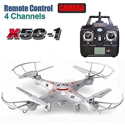 Drone Quadcopter de control remoto mejorado X5C-1 con cámara de ...