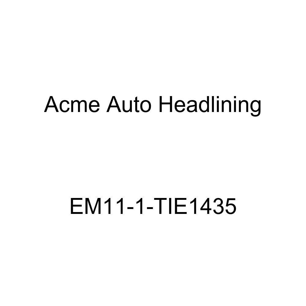 Acme Auto Headlining EM11-1-TIE1435 Tan Replacement Headliner 1933 Buick Series 60, 80 /& 90 2 Door Victoria Sedan - 3 Bow